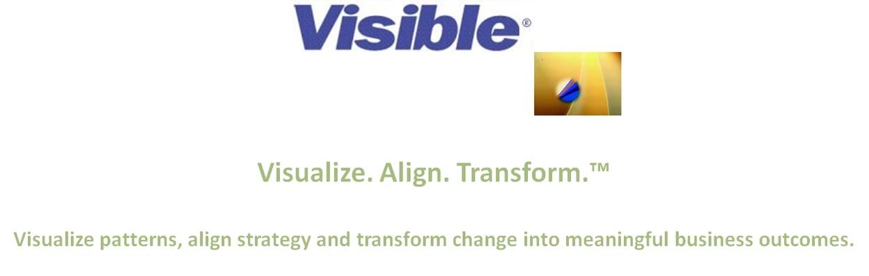 Visible Logo and Tag Line